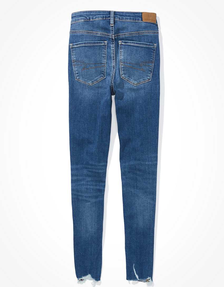 AE Ripped Super High-Waisted Jegging