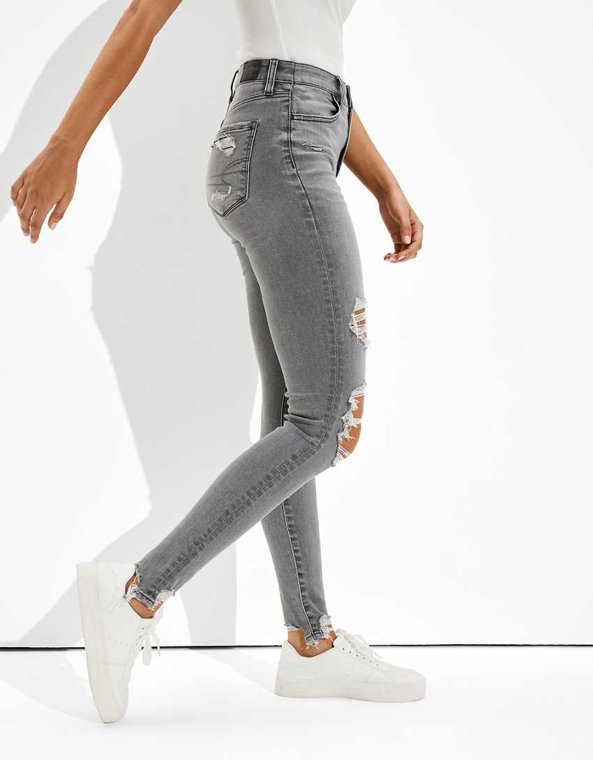 AE Ne(x)t Level Ripped Super High-Waisted Jegging