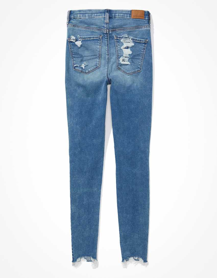 AE Forever Soft Ripped Super High-Waisted Jegging