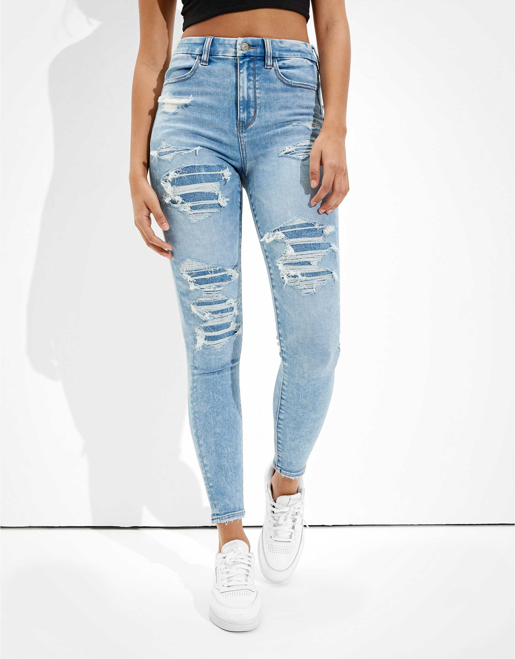 AE Forever Soft Patched Super High-Waisted Jegging