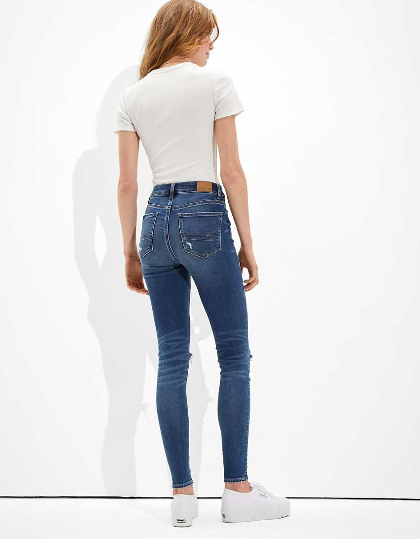 AE Ne(x)t Level Soft Knit Ripped Super High-Waisted Jegging