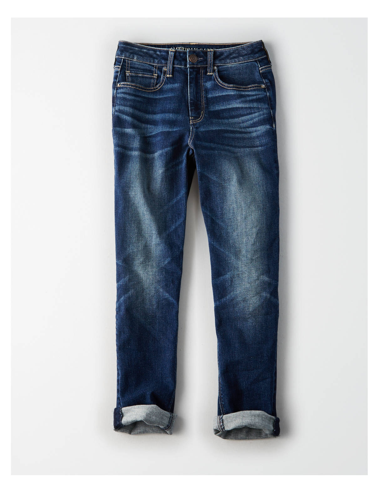 Display product reviews for AE Denim X High-Waisted Tomgirl