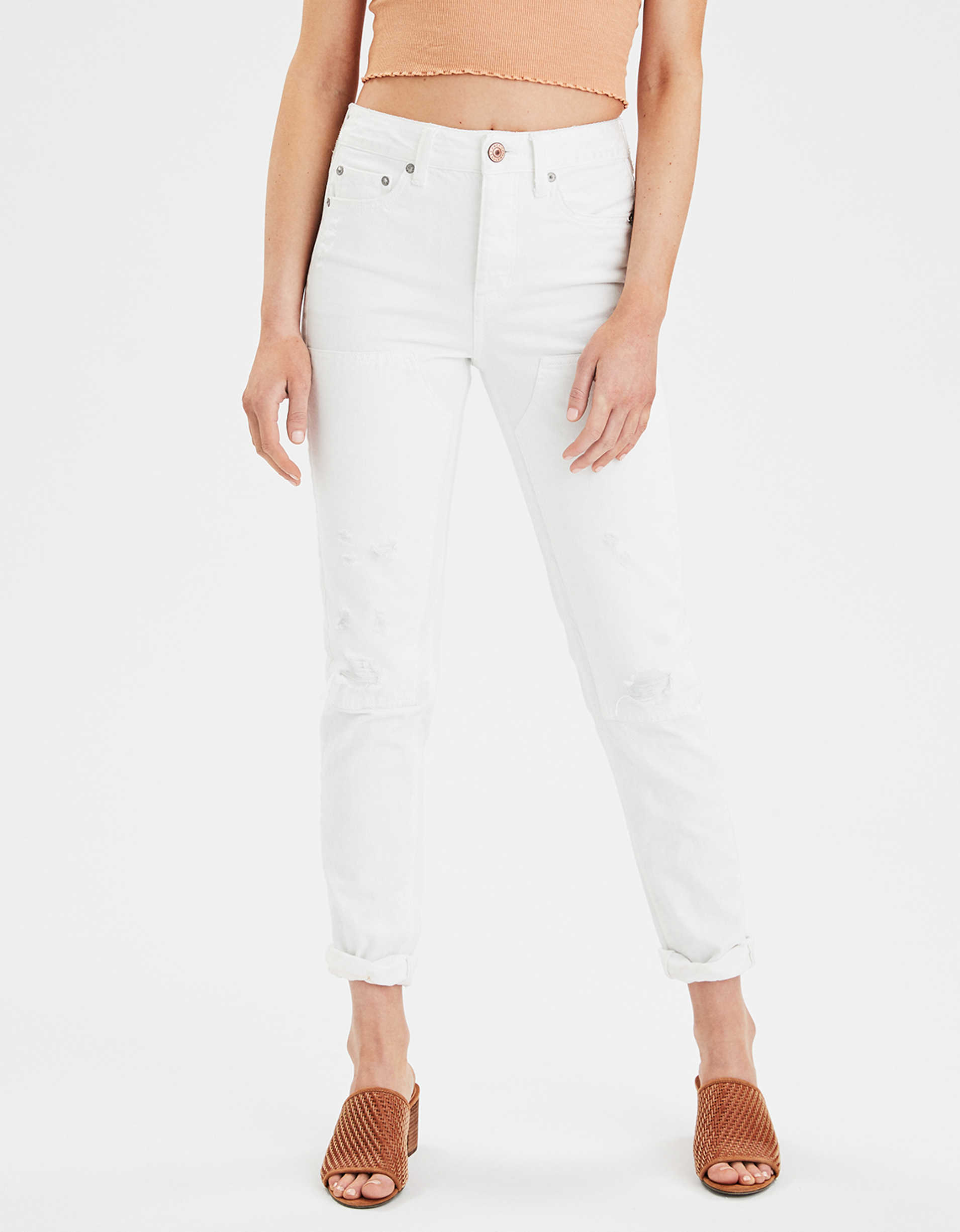 High-Waisted Tomgirl Jean