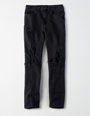 AE修身90年代男友風牛仔褲