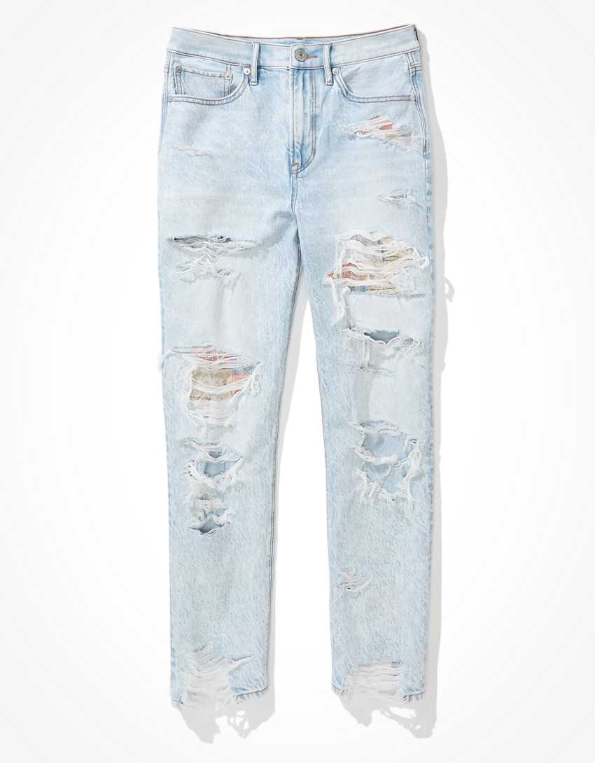 AE Patched '90s Boyfriend Jean