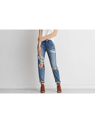 American eagle high waisted bootcut jeans
