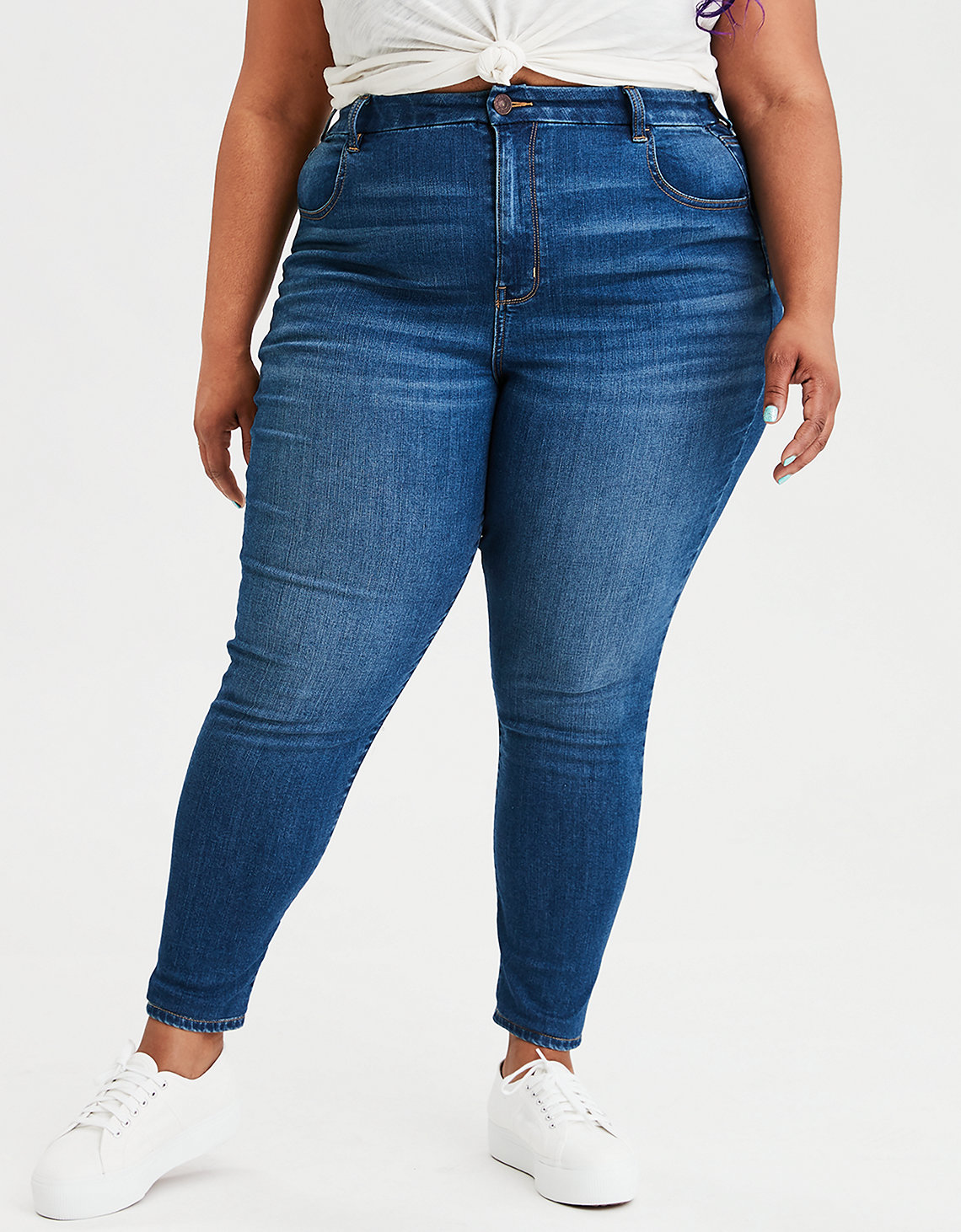 Ae Ne(X)T Level Curvy High Waisted Jegging by American Eagle Outfitters