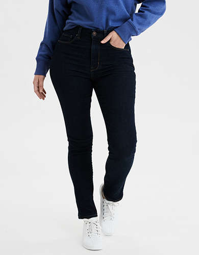 AE Ne(X)t Level Curvy High-Waisted Skinny Jean