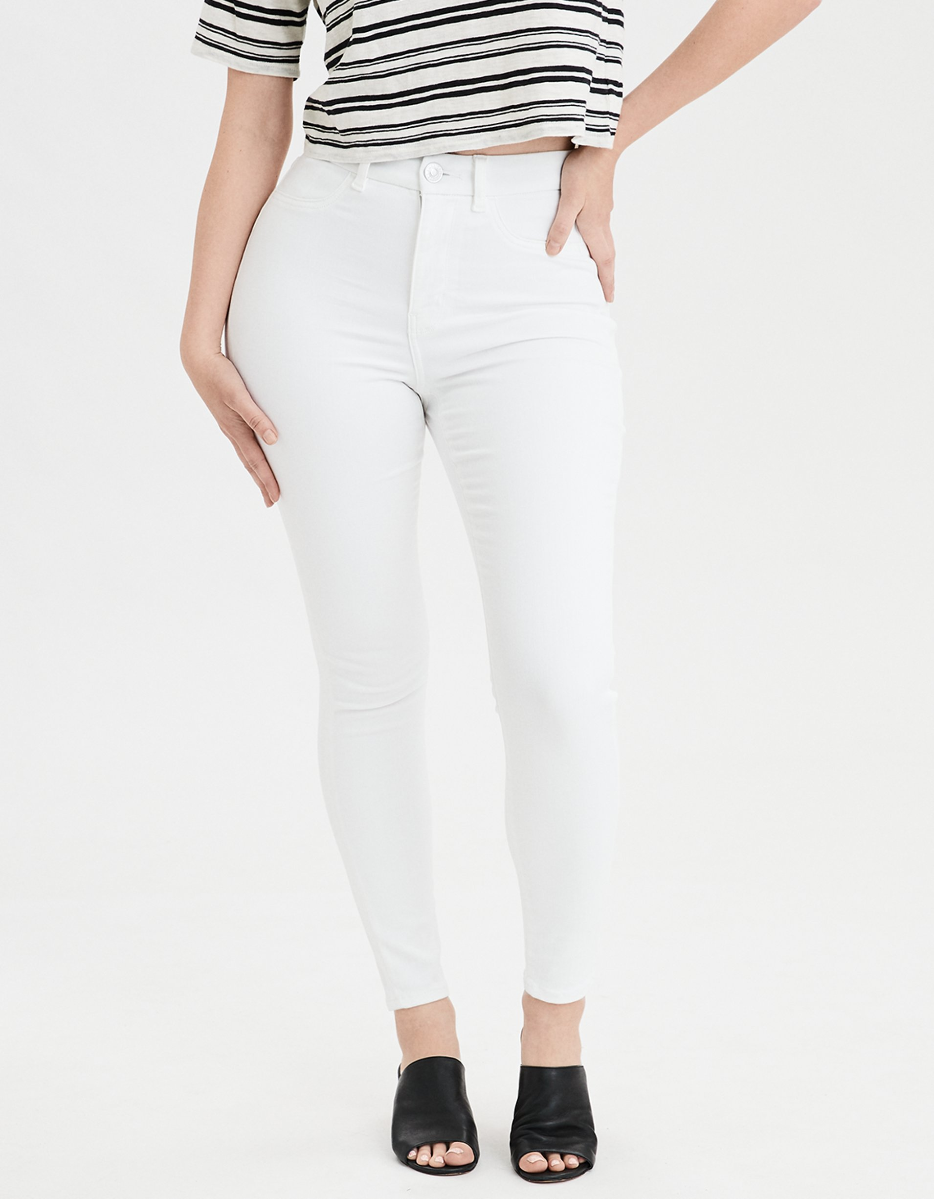 .99 Women's jeans on sale at American Eagle + Free shipping at !