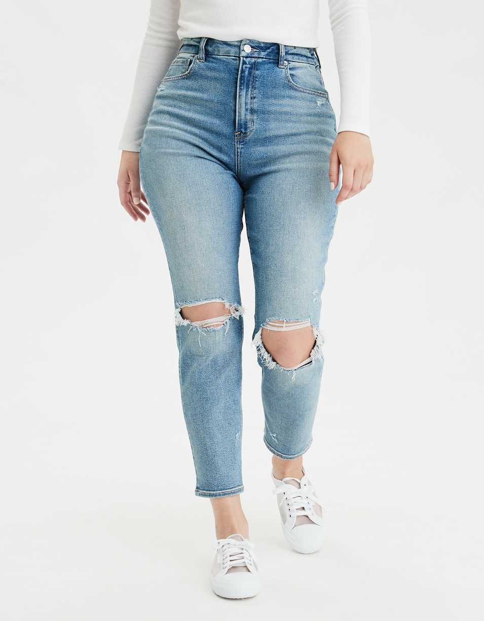 AE Stretch Curvy Mom Jean