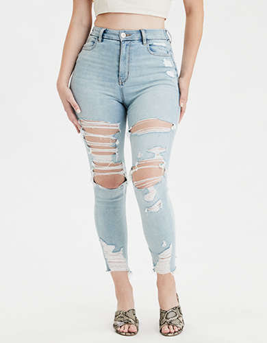 AE Ne(X)t Level Curvy High-Waisted Jegging Crop