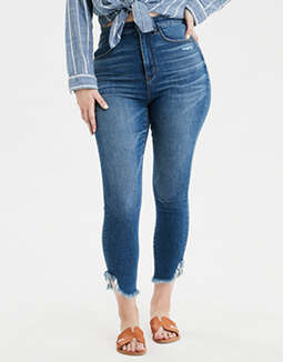 AE Ne(X)t Level Curvy Super High-Waisted Jegging Crop