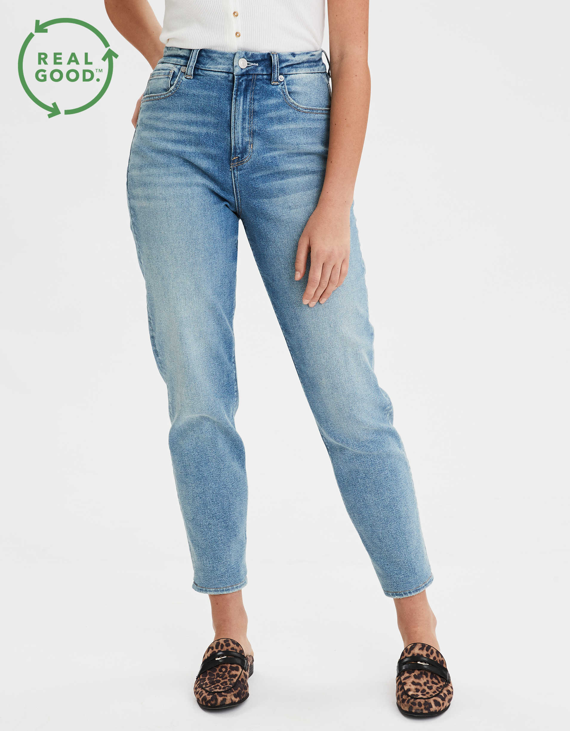 Stretch Curvy Mom Jean
