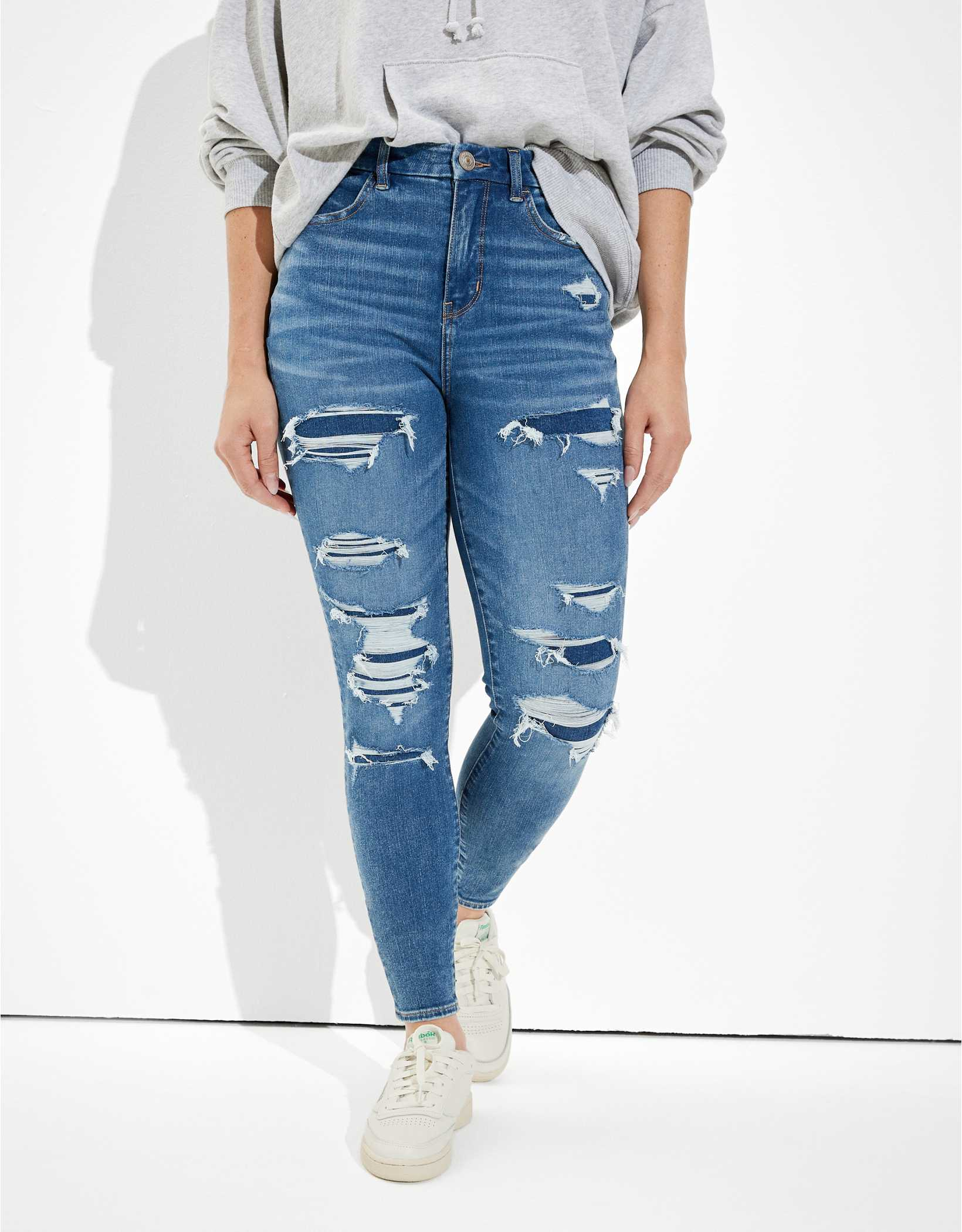 AE Dream Patched Curvy High-Waisted Jegging