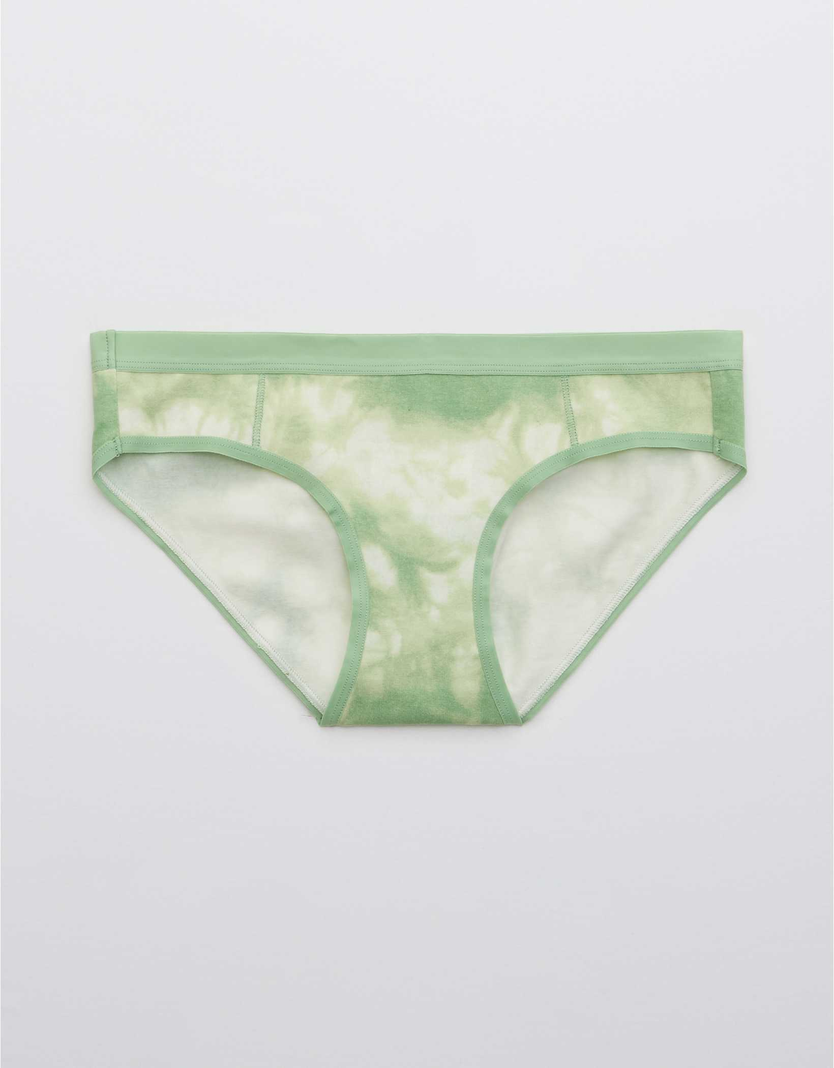 Aerie Cotton Elastic Printed Bikini Underwear