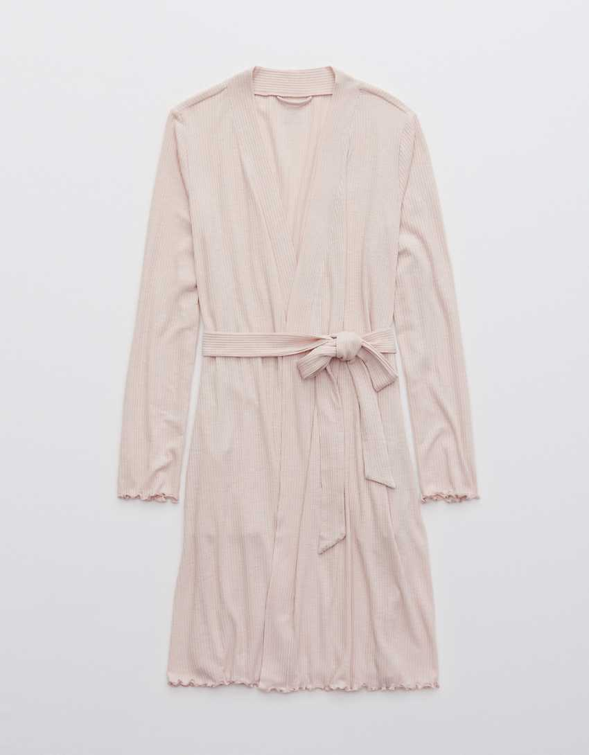 Aerie Real Soft® Ribbed Robe