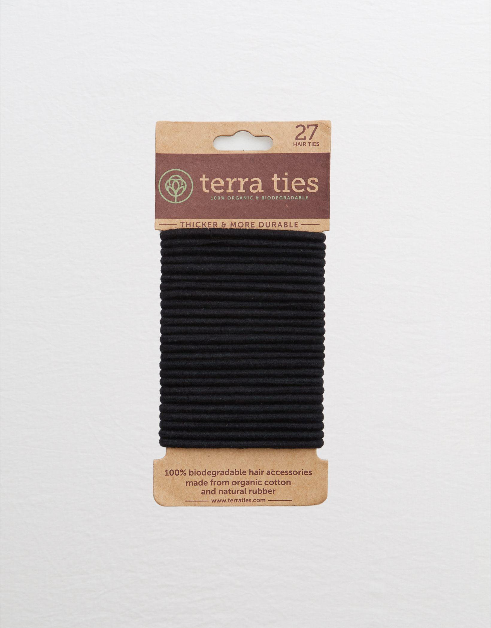 Terra Ties Biodegradable Organic Hair Ties