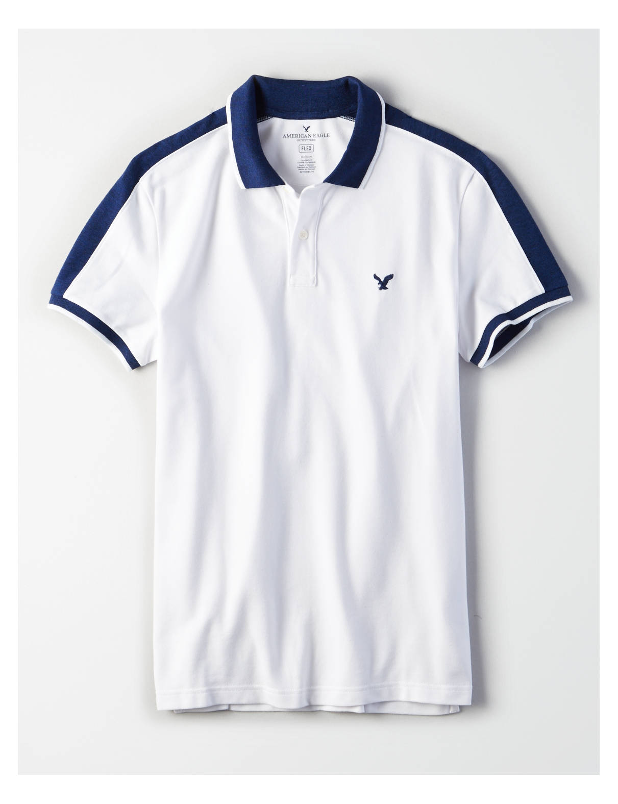 Display product reviews for AE SHOULDER PANEL POLO