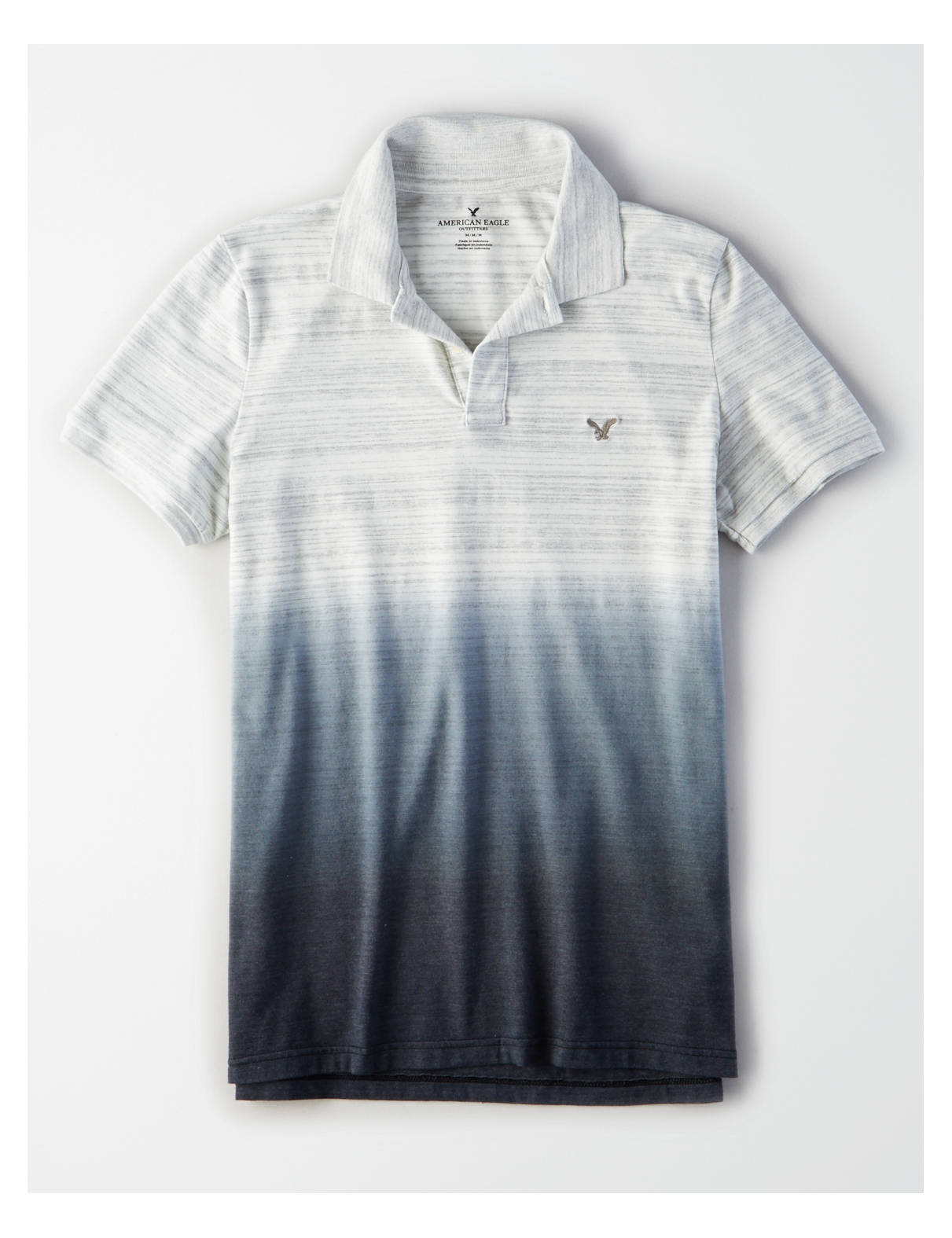 Display product reviews for AE FLEX JERSEY DIP-DYE POLO