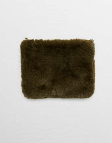 Aerie Furry Pouch