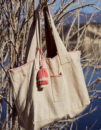 Aerie Stitching Tote Bag