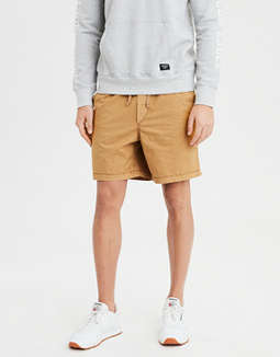 978765222c placeholder image AE Ne(X)t Level Khaki Jogger Short ...
