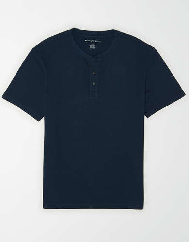 AE Super Soft Icon Henley T-Shirt