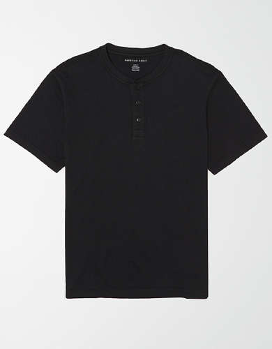 AE Super Soft Icon Henley Shirt