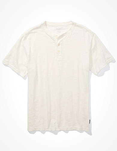 AE Super Soft Slub Henley T-Shirt