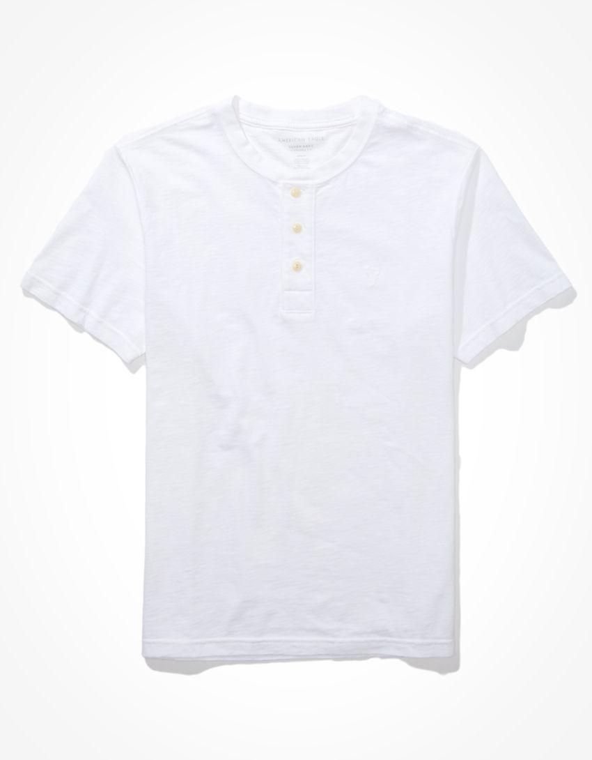 AE Super Soft Henley T-Shirt