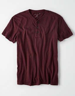 c56f9162 placeholder image AE Logo Slub Henley T-Shirt ...