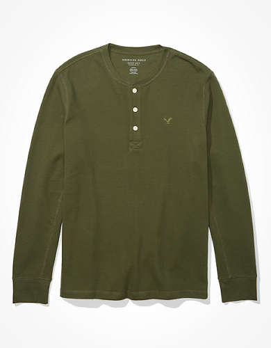 AE Thermal Henley Shirt