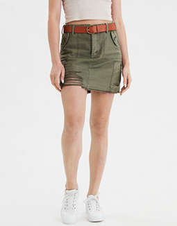 AE High-Waisted Festival Mini Skirt