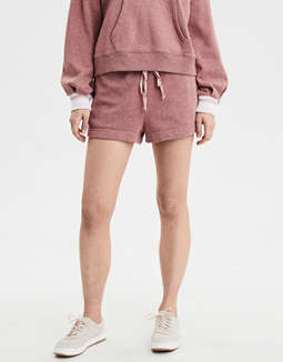 AE High-Waisted Fleece Short