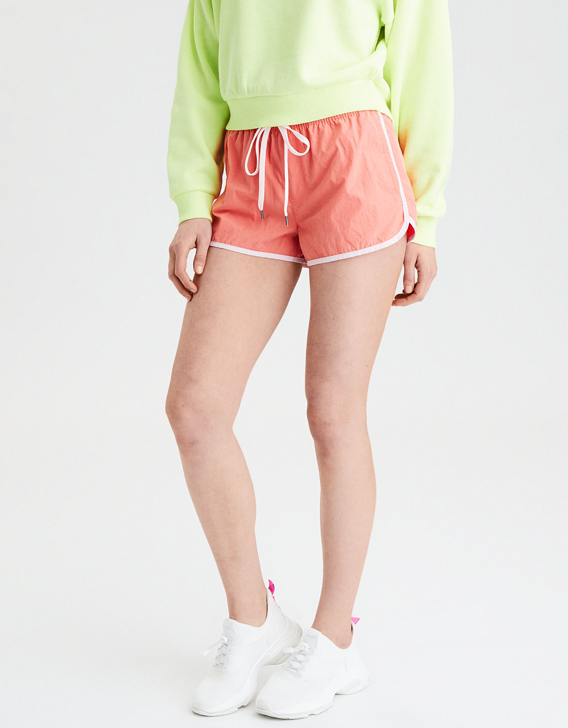 AE High-Waisted Nylon Short