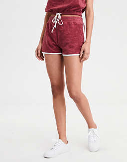 High Waisted Fleece Short by American Eagle Outfitters