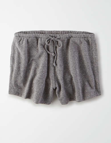 AE High-Waisted Fleece Pull-On Short