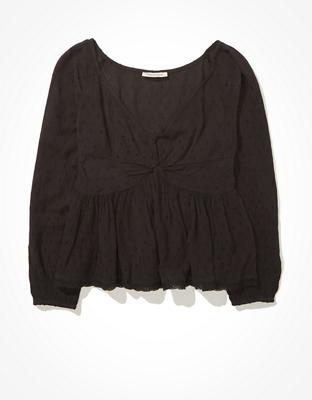 AE Twist Front Blouse