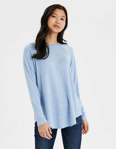 AE Soft Plush Raglan Sleeve T-Shirt