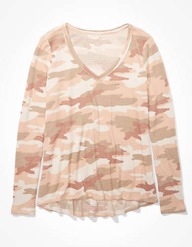 AE Long-Sleeve V-Neck T-Shirt