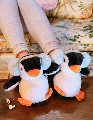 AEO Penguin Slipper