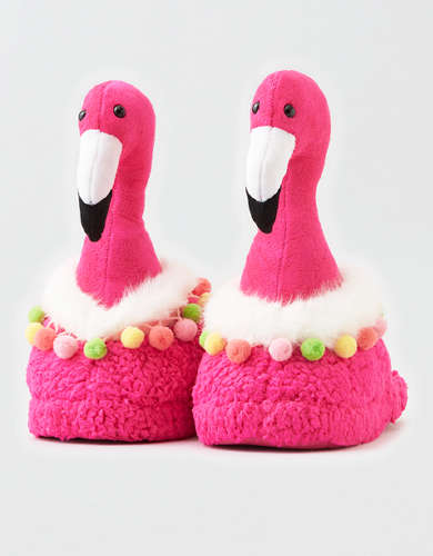 AEO Flamingo Slipper