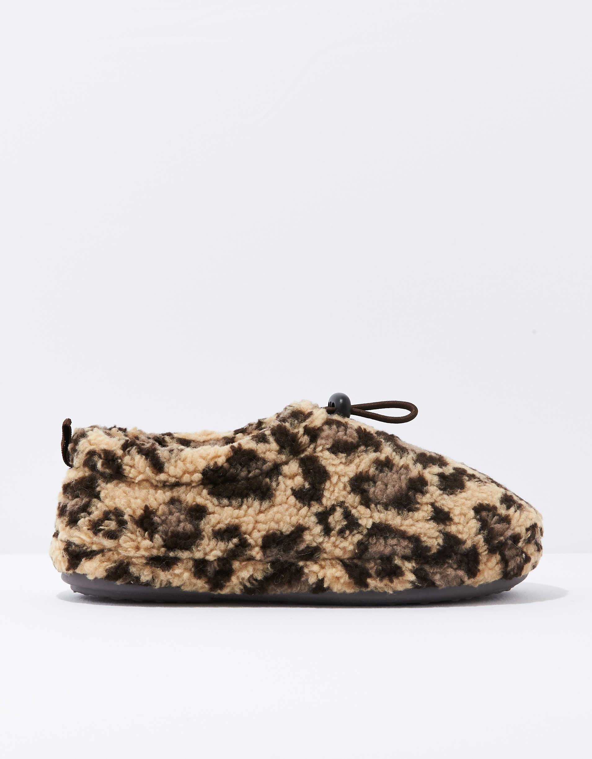 AEO Leopard Shortie Slipper