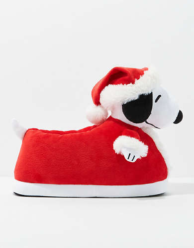 AE Holiday Snoopy Slipper