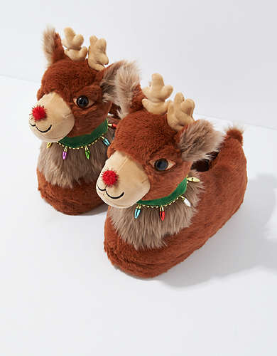 AE Reindeer Slipper