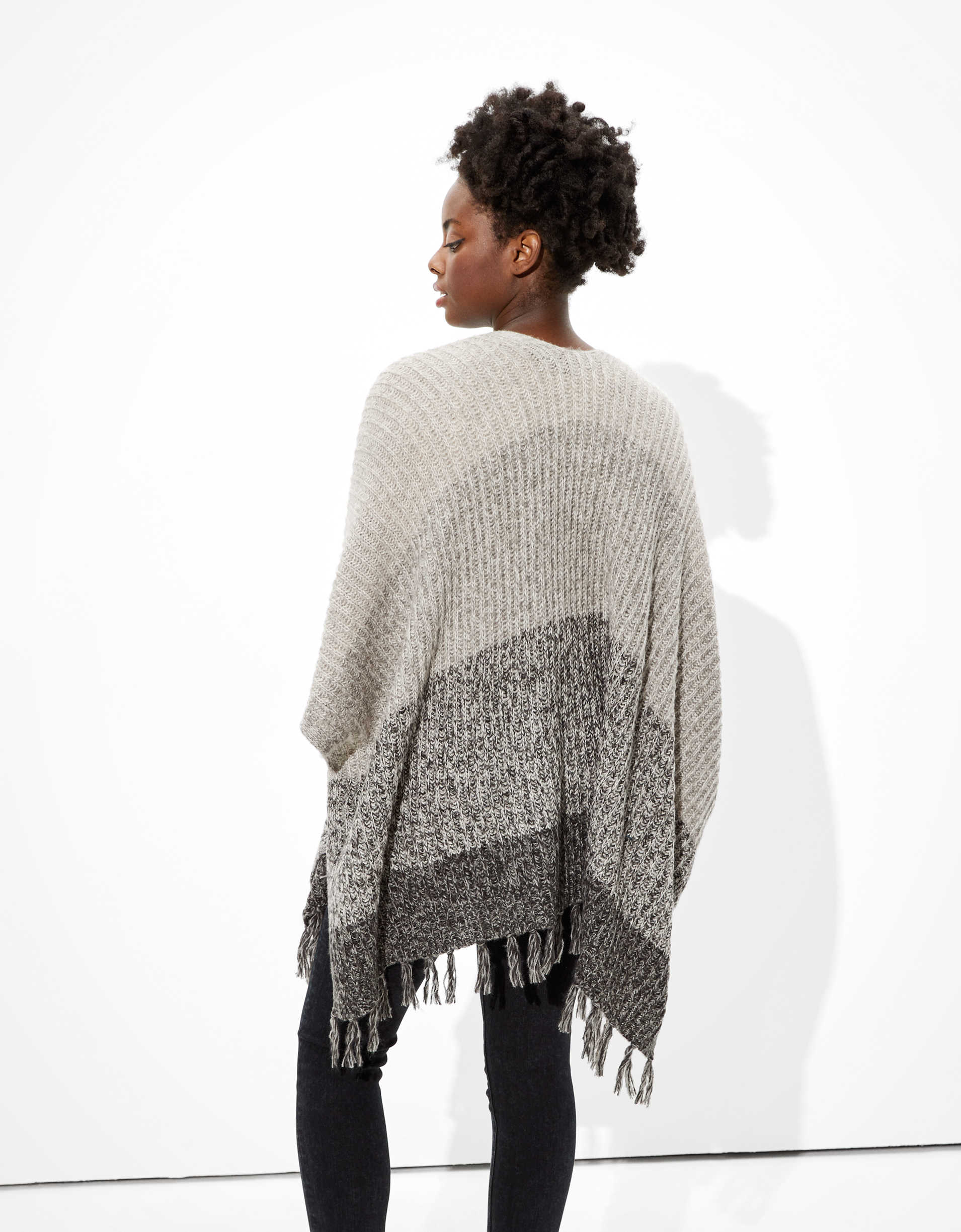 AE Cozy Ombre Knit Wrap