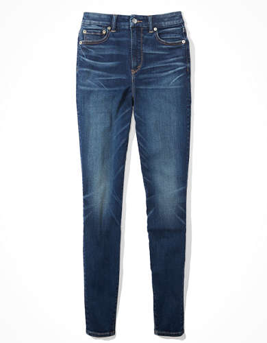 AE The Lu(x)e Jean Curvy Super High-Waisted Jegging