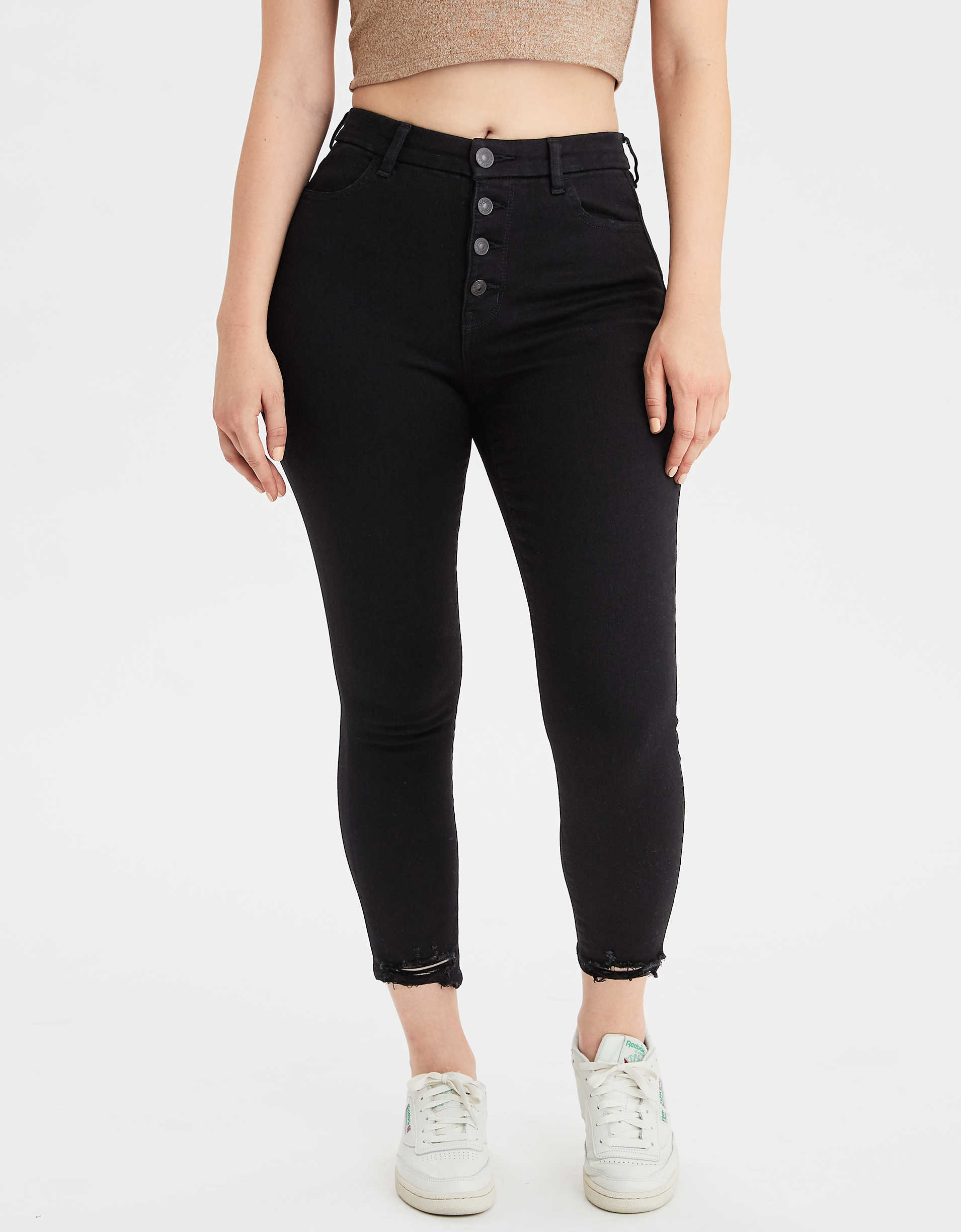 AE The Dream Jean Curvy High-Waisted Jegging Crop