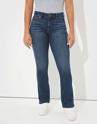 AE Ne(x)t Level Curvy High-Waisted Skinny Kick Jean