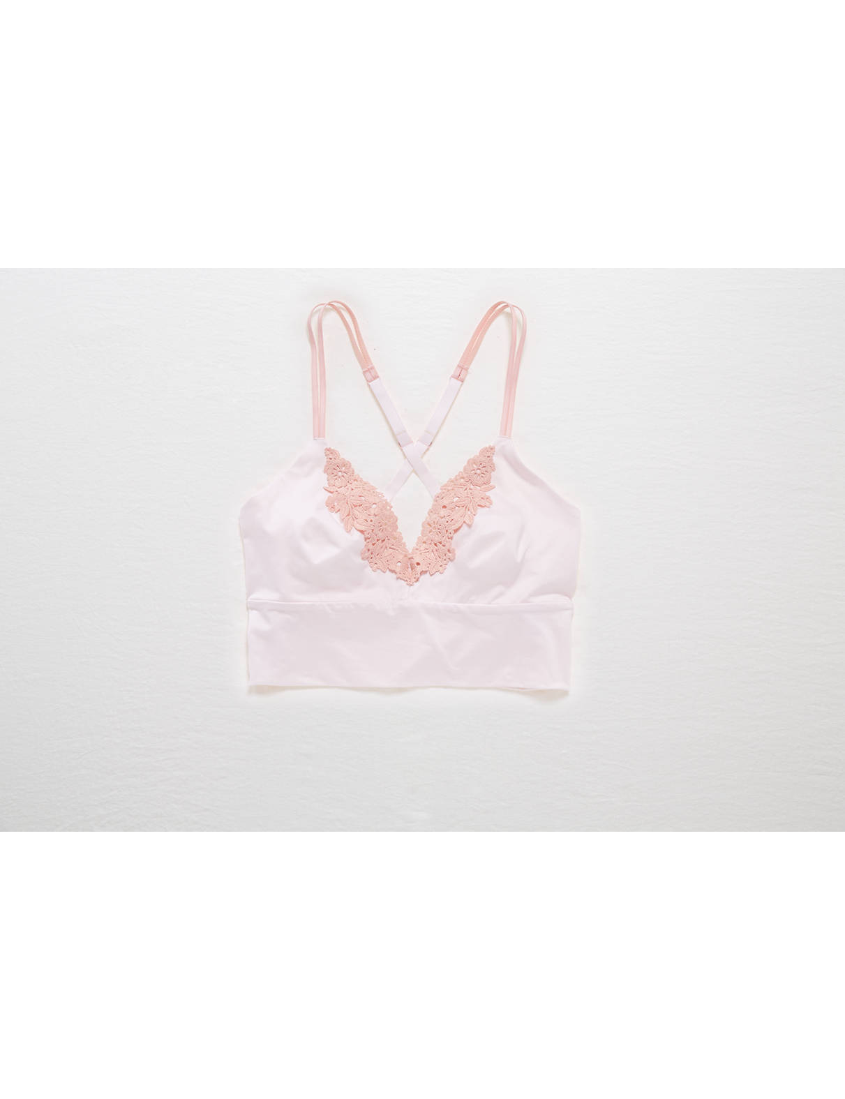 Display product reviews for Aerie Sunnie Chill Longline Sports Bra